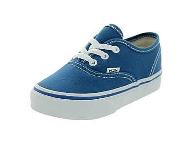fd29ba1eefae1d Vans Toddler Authentic Shoe Navy True White  Amazon.com.au  Fashion