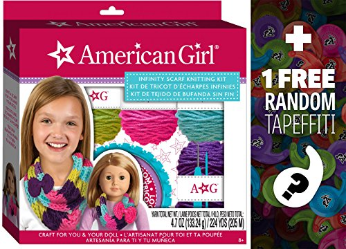 Infinity Scarf Knitting Kit: American Girl