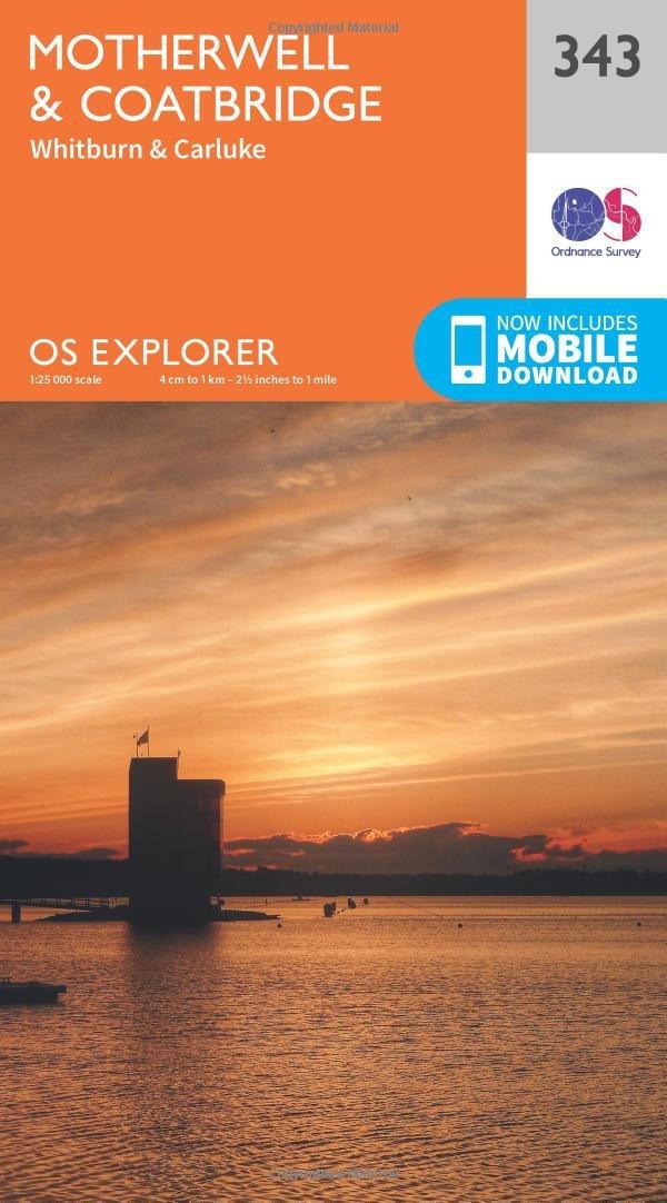 Amazon com: Motherwell and Coatbridge (OS Explorer Active Map