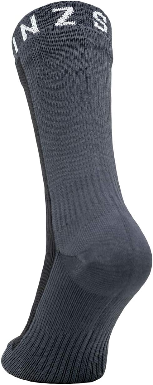 SealSkinz Waterproof Warm Weather Ankle Length Calcet/ín Navy Blue//Grey//Red Small Hombre