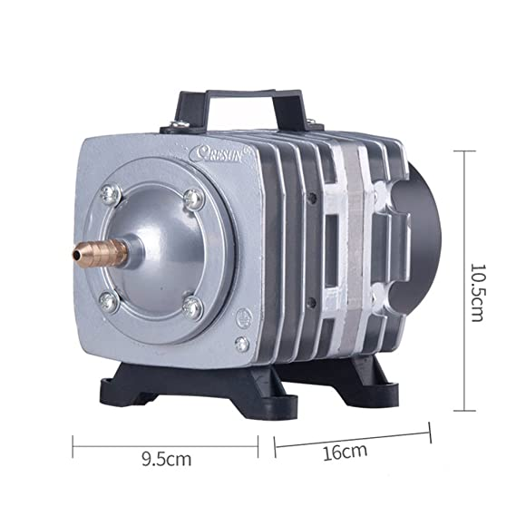 Amazon.com : Resun 18W ACO-001 Mini Electromagnetic Air Compressor for Aquarium Fish Tank Hydroponics Air Aerator Oxygen Pump : Pet Supplies