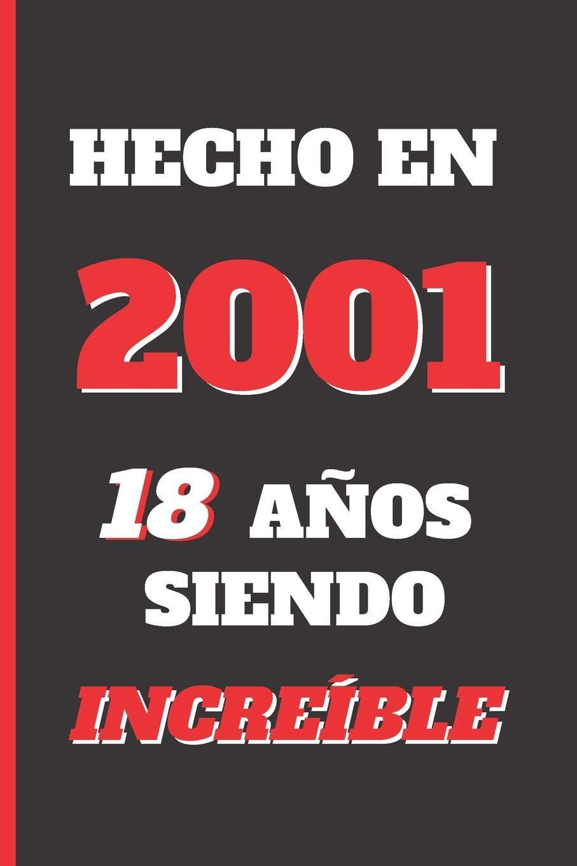 Amazon.com: HECHO EN 2001: REGALO DE CUMPLEAÑOS ORIGINAL Y ...