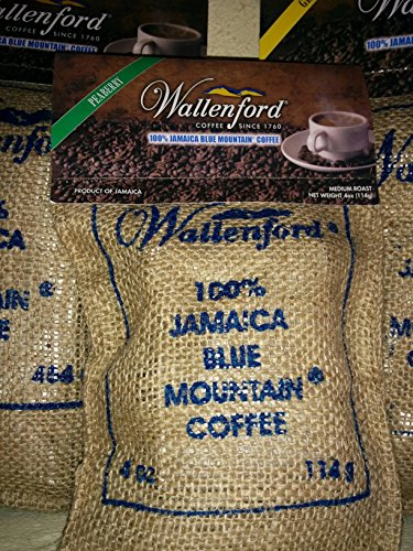 4oz Roasted Peaberry Bean 100% Jamaica Blue Mountain