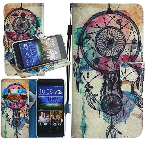 Alcatel One Touch Fierce XL Case, One Touch Fierce XL Wallet Case, Harryshell(TM) Dream Catcher Wallet Folio Leather Flip Case Cover with Card Id Slot and Strap for Alcatel One Touch Fierce XL 5054