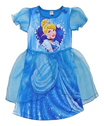 Vestido de Cenicienta de Disney Princess Fancy Dress mundo libro ...