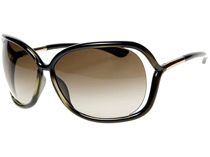 3d7bad6530 Image Unavailable. Image not available for. Colour  Tom Ford Raquel TF 76  FT0076 U45 Olive 63mm Sunglasses
