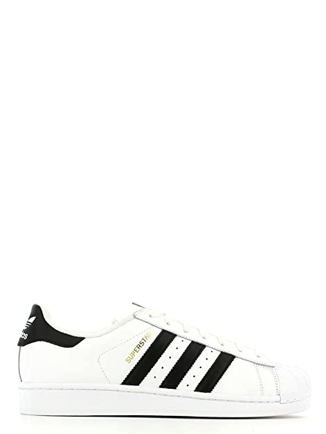 online retailer 68fc5 bc951 adidas Originals Superstar Sneakers Uomini Bianco Nero - 44 2 3 - Sneakers  Basse  Amazon.it  Scarpe e borse