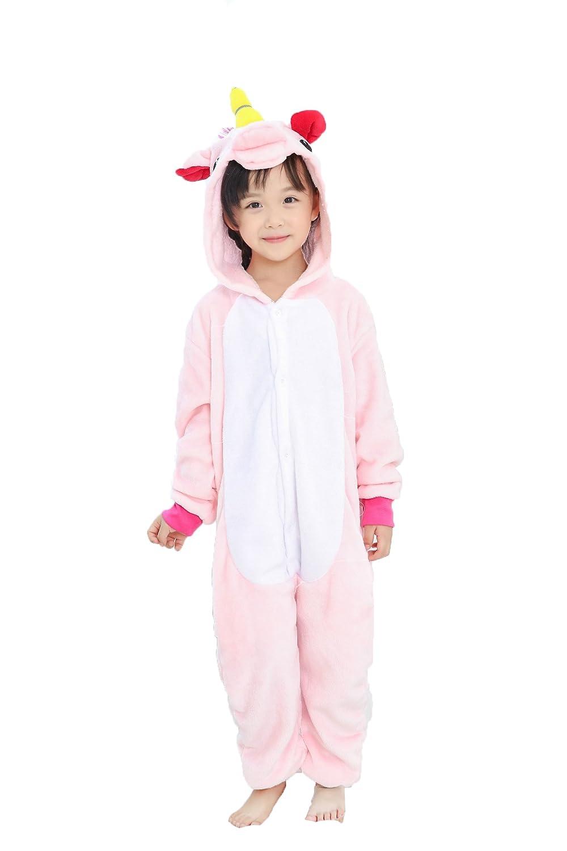 JT-Amigo Kids Unisex Cosplay Pajamas Onesie Unicorn Costume KidsPajama-Unicorn