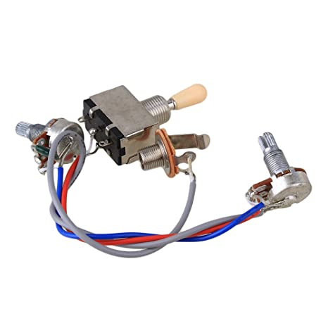 61e%2BGIa9i0L._SX466_ amazon com bqlzr guitar wiring harness 3way toggle switch 1v1t electric guitar wiring harness at reclaimingppi.co