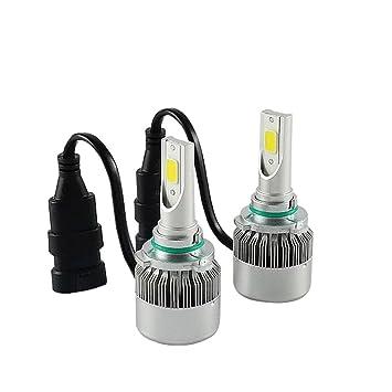 TXVSO8 9006 HB4 110W LED COB Luces Delanteras del Coche Kit 9200LM 6000K Lámparas de luz