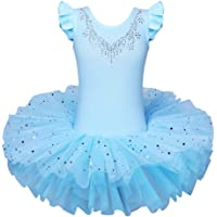 Ballet Leotards for Girls Dance Classic Dress Polka Dot Dancewear