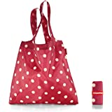 Reisenthel AT3014 Mini Maxi Shopper ruby dots, Polyester, rot, 60 x 7 cm