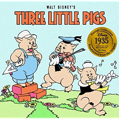 Disney Vintage Collection: Three Little Pigs: Dalmatian Press: Toys & Games