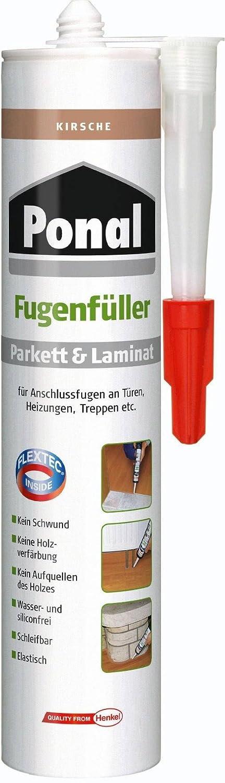 Ponal 1026853 - Mastice per riparare parquet e laminato, effetto ciliegio, 280 ml PN10F