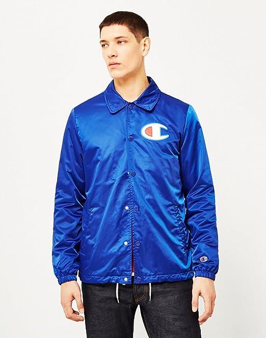 Champion - Chaqueta - para hombre azul azul: Amazon.es: Ropa y accesorios