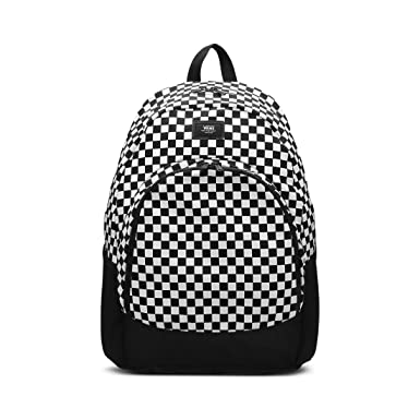 6ca5e99782 Amazon.com | VANS Van Doren Original Backpack One Size Black White ...