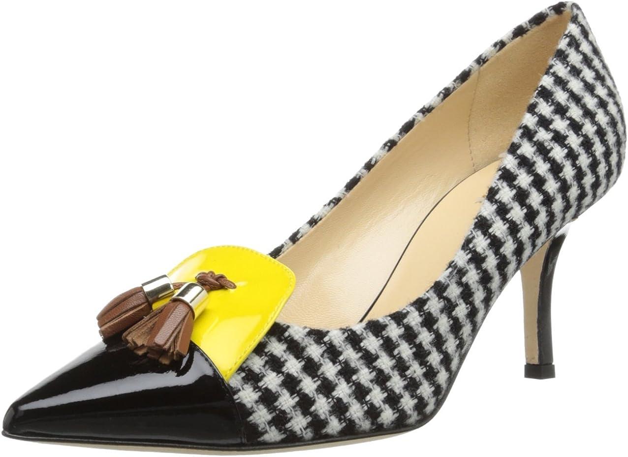 Jewel Badgley Mischka Womens JOLANDA Shoe 9 Medium US black