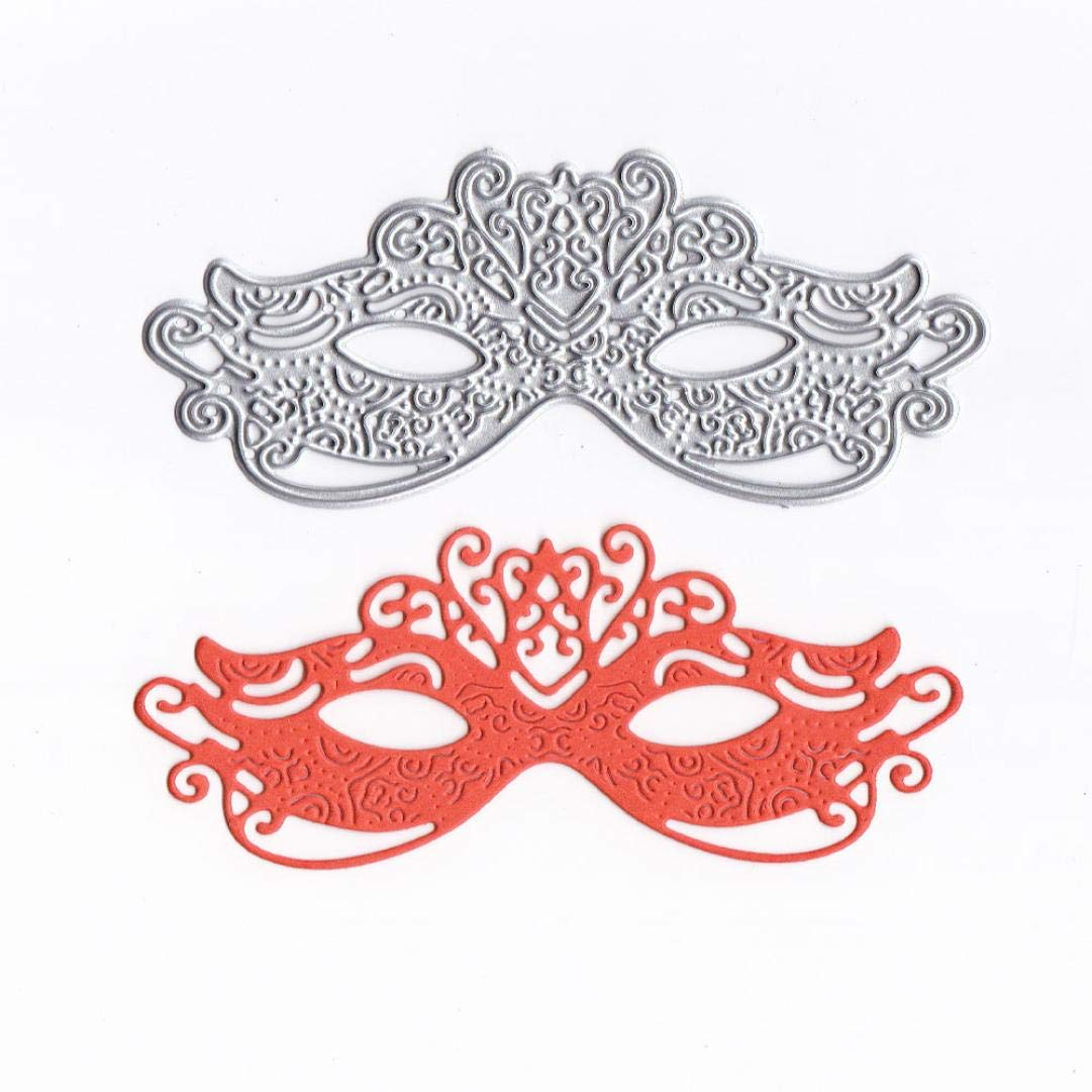 Cutting Dies Christmas,Lace Mask Metal Cutting Dies Card Making Scrapbooking Stencils Album Paper Card Craft Embossing DIY Decorative Background Goodtrade8®
