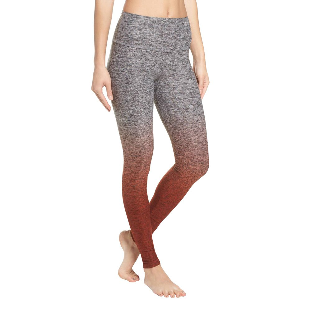 Beyond Yoga Women's Ombre High Waisted Long Legging (Spiced Cider Ombre,L) by Beyond Yoga