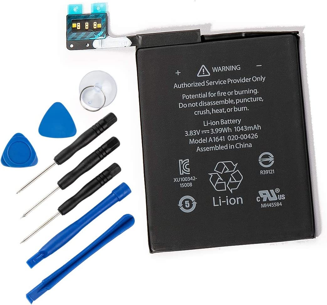 REYTRIC A1641 Replacement Battery Compatible iPod Touch 6 6th Generation gen with Installation Tools 1043mAh 3.83V 3.99Wh 020-00426