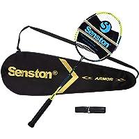 Senston N80 Carbon ultralichte badmintonracket met rackettas