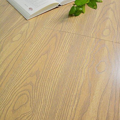 买便宜的yazi self adhesive floor tiles pvc flooring film building materials wood grain 23x12inch pack