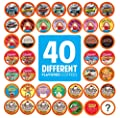 Two Rivers Flavored Coffee Pods, Compatible with 2.0 Keurig K-Cup Brewers, Variety Pack, 40 Count from Two Rivers
