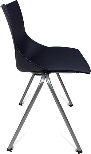 GloDea Shell Outdoor Chair Set of 2 , Blue