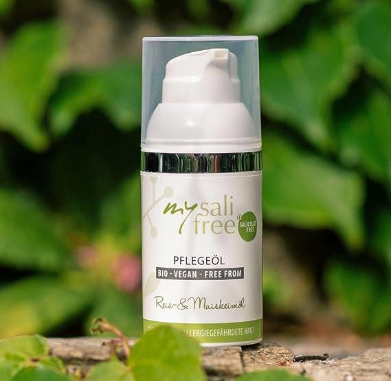 Organic Face Oil • Selection of Highest Quality Oils • Organic • Nourishing & Hypoallergenic para pieles sensibles y con tendencia a alergia, con aceites de ...