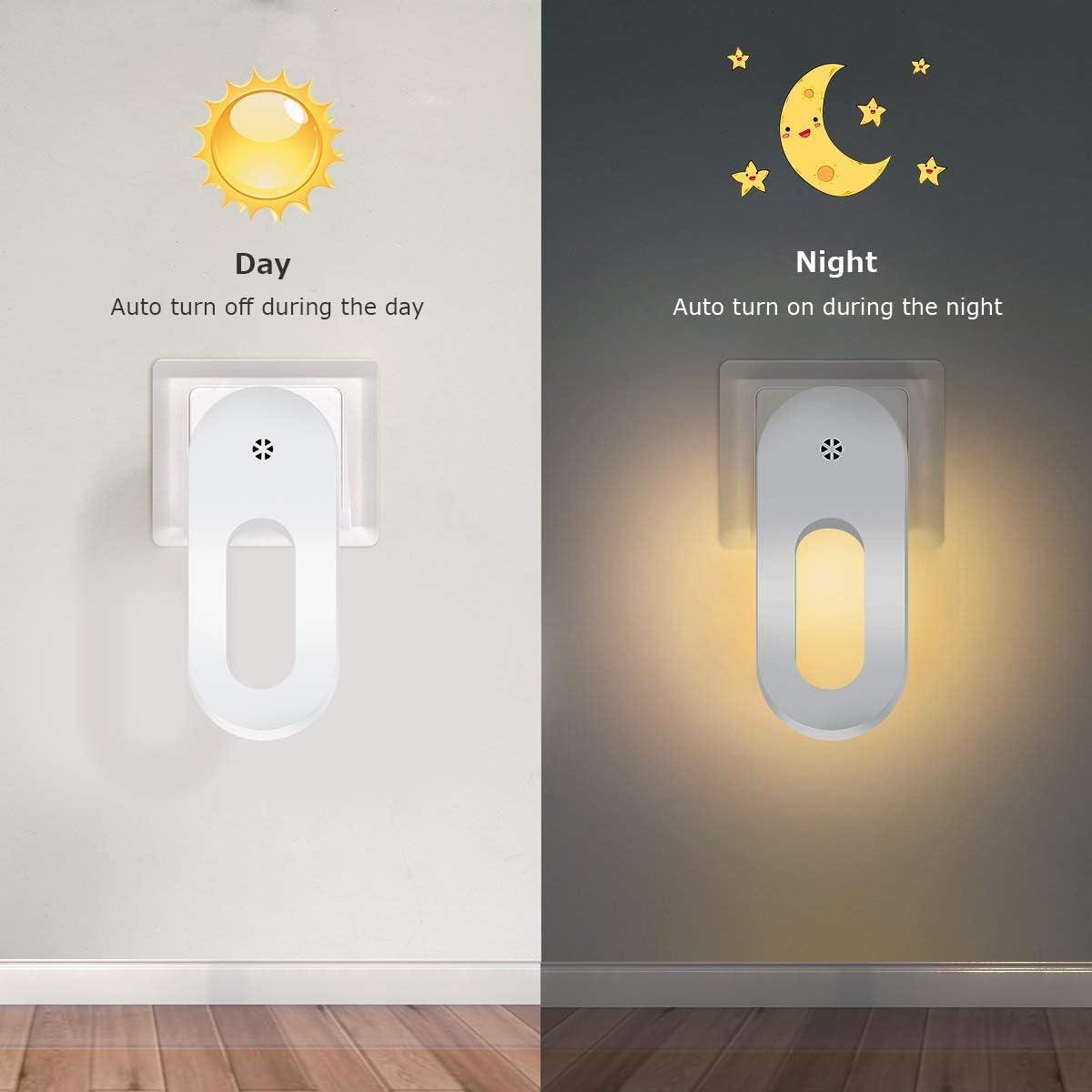 Ailyoo Casa Inteligente con luz Nocturna Redonda, Escalera con batería Gabinete con luz Luces Gabinete con Control Remoto Regulable Luz Nocturna para Pasillo, escaleras, baño, Dormitorio: Amazon.es: Hogar