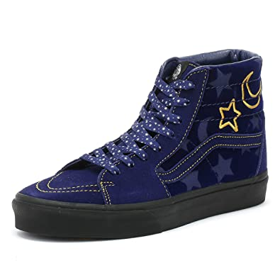 c2e34d878604d5 Vans Disney SK8 Hi Sorcerer s Apprentice Skate Shoes Men s 3.5 Women s 5