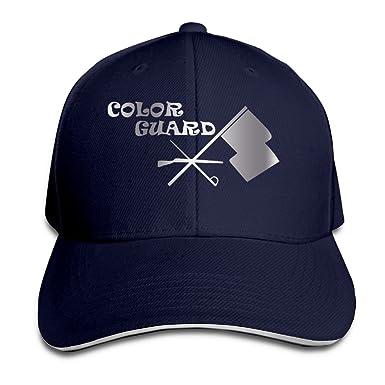 Kmrr Color Guard Symbol Platinum Style Flex Baseball Cap Navy Blue