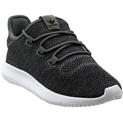 adidas Tubular Shadow Knit C Preschool Shoes Charcoal Solid Grey Footwear  White by8813 (1 b1e1d6927