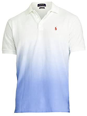 Polo Ralph Lauren Men\u0027s Classic-Fit Ombre Polo Shirt - S - Knit Liberty at  Amazon Men\u0027s Clothing store: