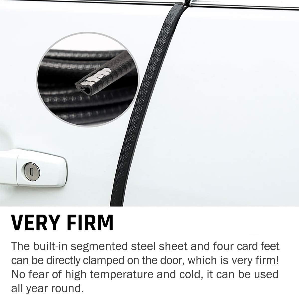 Car Door Edge Guards 33Ft Universal Fit Rubber U Shape Edge Trim Car Door Edge Protection,Car Protection Door Edge Fit for Most Car 10M