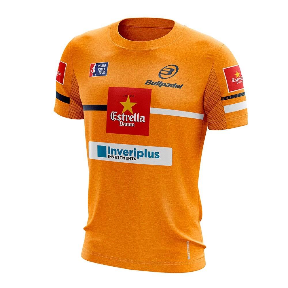 Bull padel Camiseta BULLPADEL INTRIA Maxi Sanchez Naranja FLÚOR ...