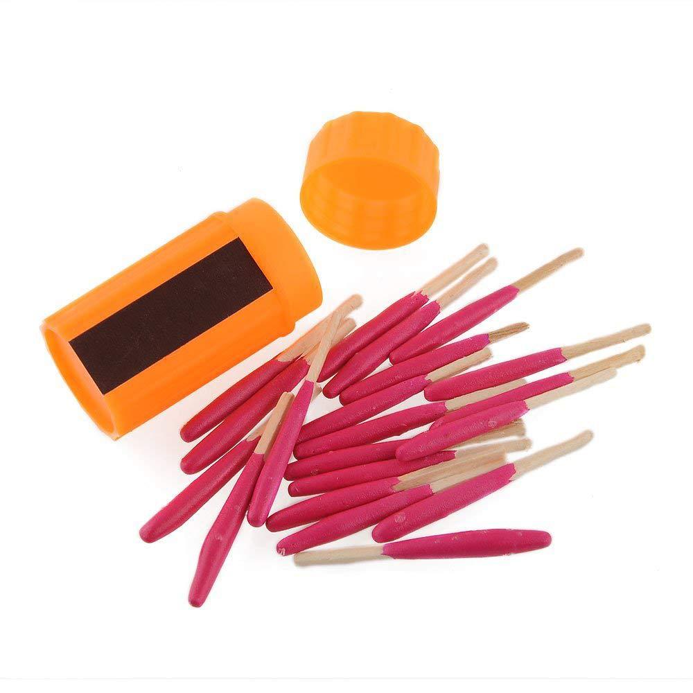 ezyoutdoor Emergency Survival Windproof Matches,5 Pack Matchstick Warmer Gear Portable Windproof Match Matches Matchstick Outdoor Survival Firs Aid Kit