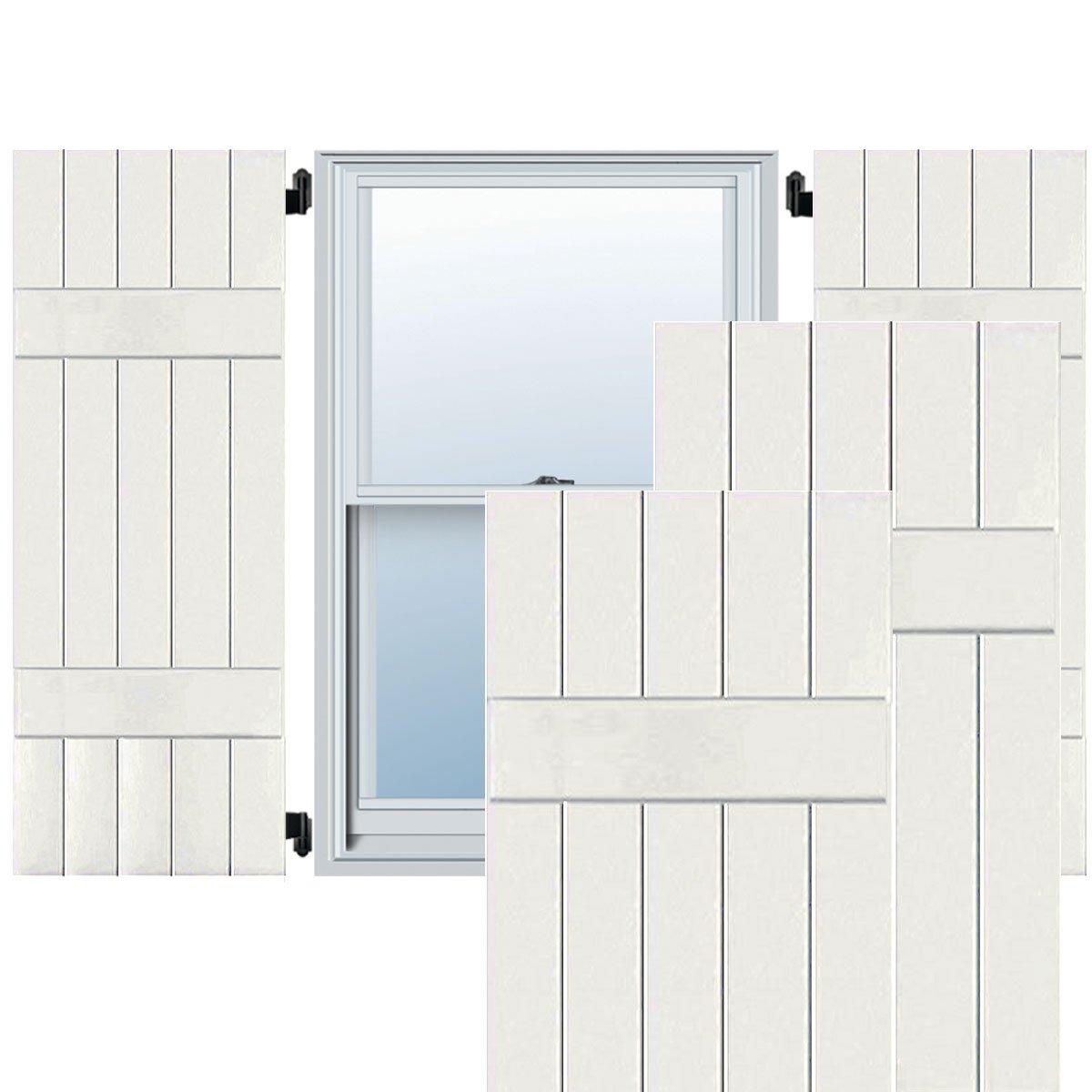 Ekena Millwork CWB18X062WHC Exterior Five Board