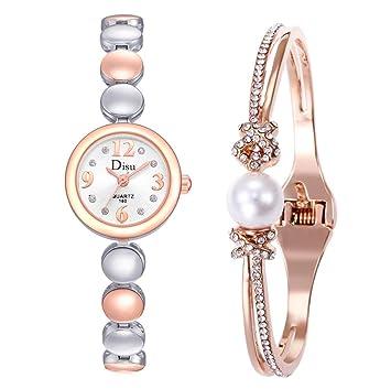 Amazon.com: Reloj de pulsera ligero y lujoso para niña ...