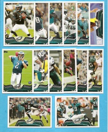 - 2013 Topps Football Philadelphia Eagles 14 Card Team Set Including Michael Vick, DeSean Jackson, Matt Barkley RC, Jeremy Maclin, LeSean McCoy, and Many More! (Football Cards)