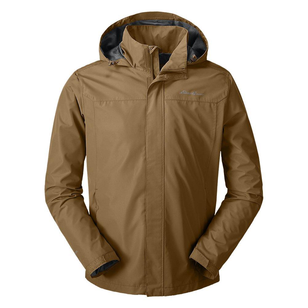 Eddie Bauer Men's Rainfoil Packable Jacket, Aged Brass Regular XL