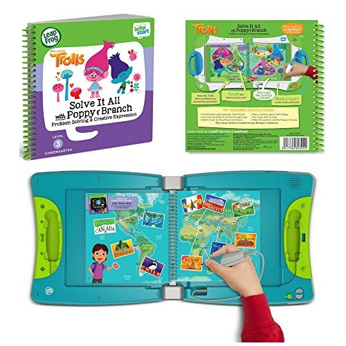 LeapFrog LeapStart Interactive Learning System Kindergarten & 1st Grade For Kids Ages 5-7, With Level 3 Educational Activity Book, Solve It All With Puppy, Learn Basic Skills For Life, Fun Activity by LeapFrog