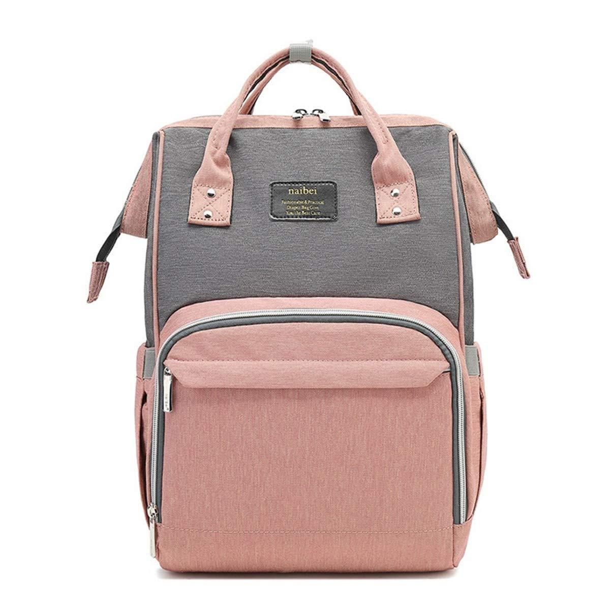 Abby Girls La bolsa de pa/ñales multifuncional Mochila de viaje impermeable Bolsas de pa/ñales para el cuidado del beb/é de gran capacidad elegante y duradera