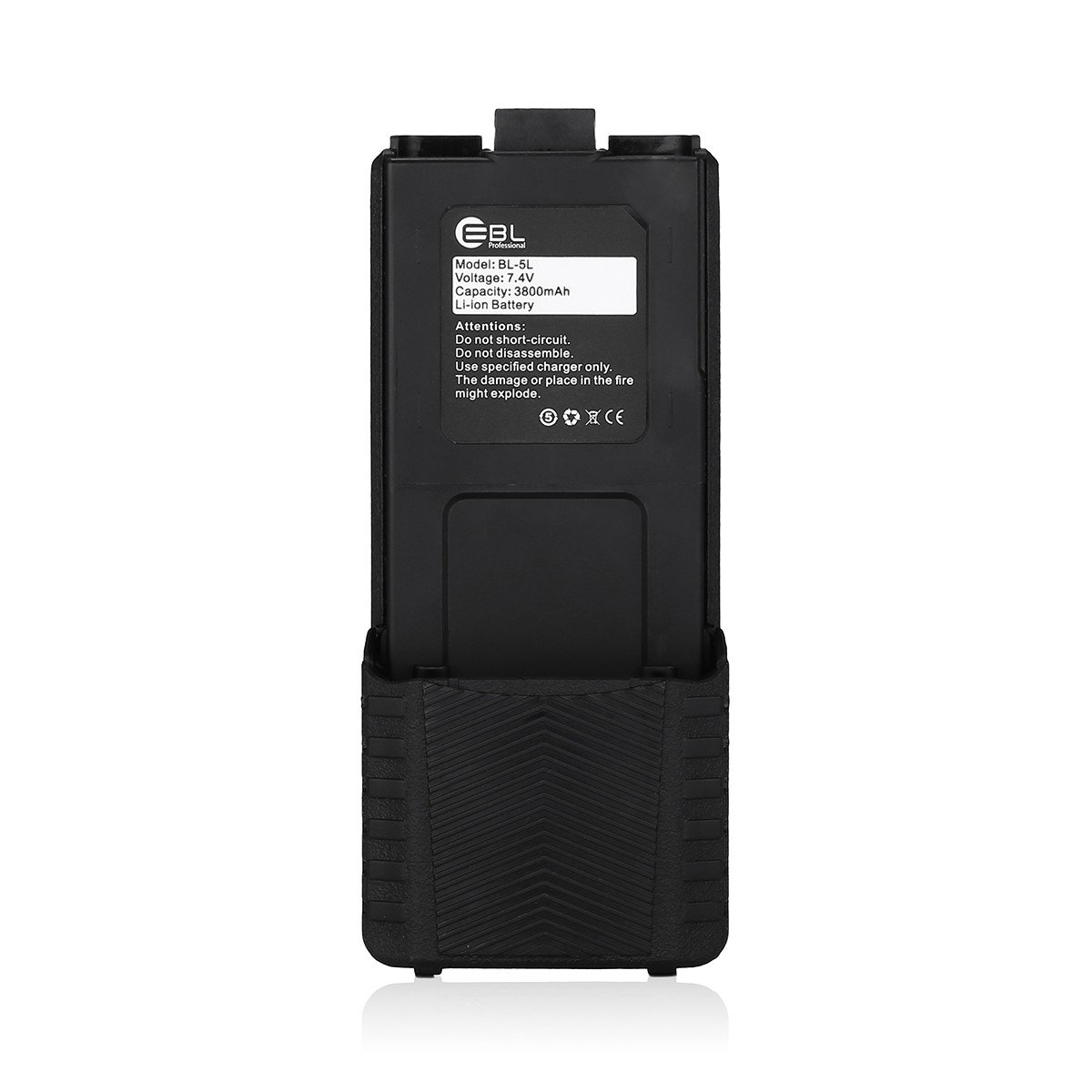 EBL BL-5L 3800mAh Li-ion Extended Battery Two-way Radio Batteries for Baofeng UV 5R UV-5R