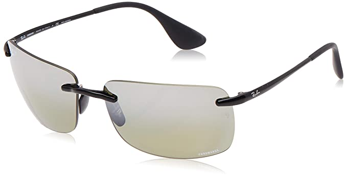 RAY-BAN 4255 Gafas de sol, Shiny Black, 60 para Hombre