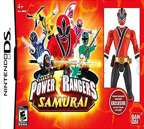 Power Rangers Samurai with Exclusive Action Figure (Power Rangers Wii Game)