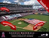Los Angeles Angels Team Stadium Print - Personlized Officially Licensed MLB Photo Print