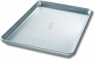 product image for USA Pan Bakeware Extra Large Sheet Pan, Warp Resistant Nonstick Baking Pan, Made in the USA from Aluminized Steel