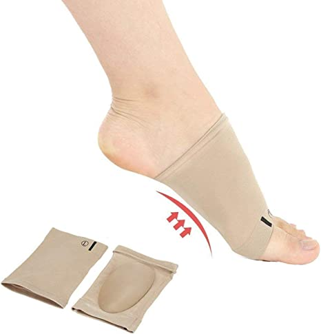 Pair Orthotic Insoles for plantar fasciitis Flat Feet arch Support Shoe Insert R