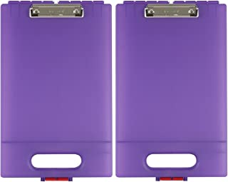 product image for Dexas 1717-1042PK Office Clipcase Storage Clipboard, Set of Two, Purple, 2 Piece